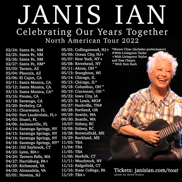 Janis Ian - Celebration Our Years Together Tour