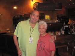 Janis & Kris Noyes at Coffee Works